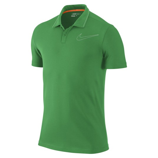 Jersey Swoosh Polo - Gym Green