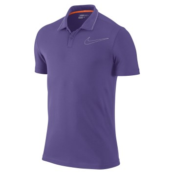 Jersey Swoosh Polo - Ultra Violet
