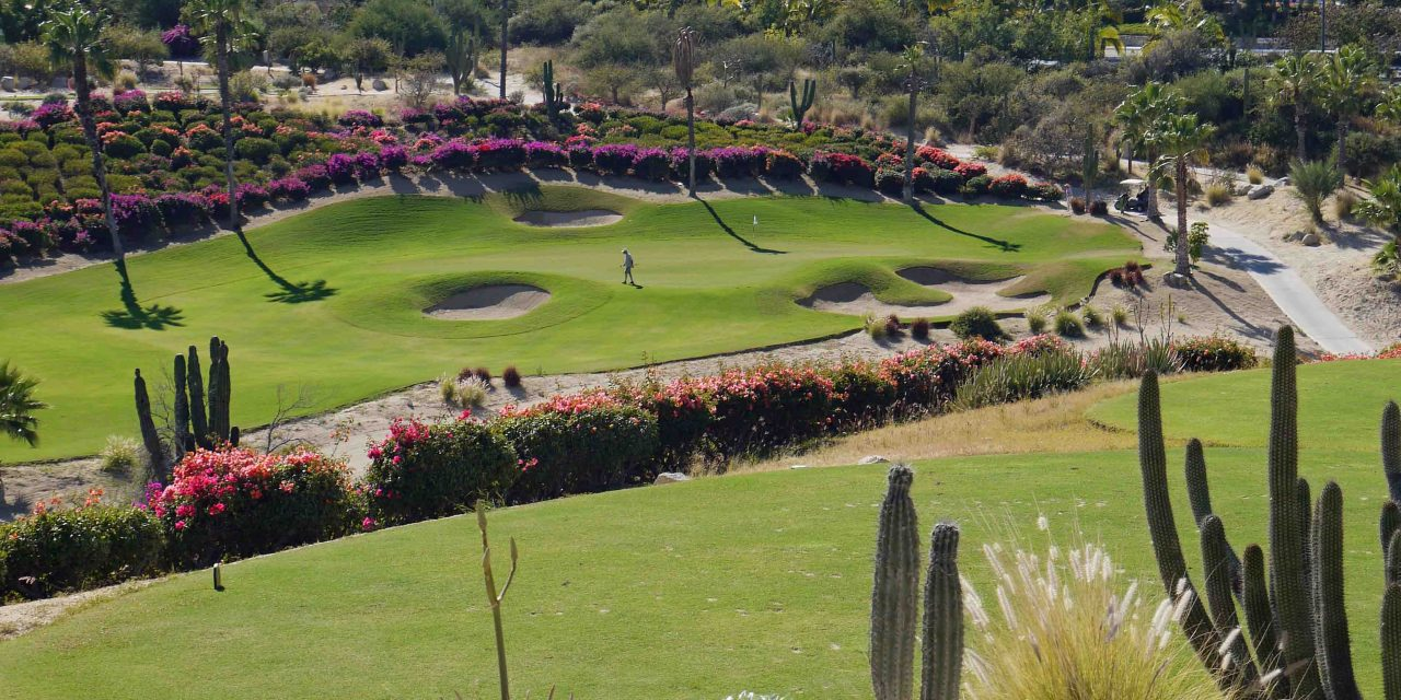 Golfing Land's End Along The Baja Sur Peninsula: Los Cabos, Mexico