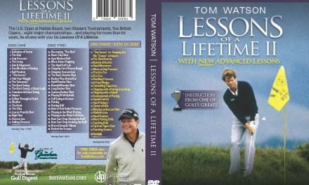 Press Release: Tom Watson Appearing On Golf Channel