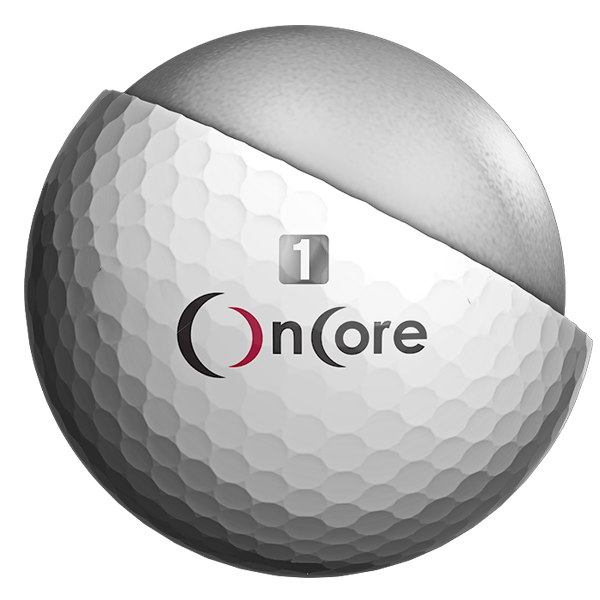 OnCore Avant 55 Golf Balls 1-Dozen Yellow
