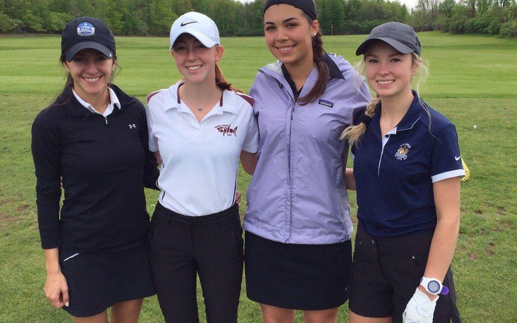Rinaldi triumphant in Girls State Catholic golf championship