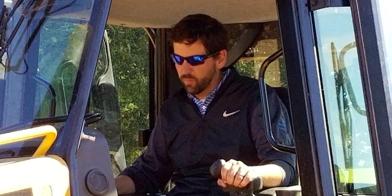2018 Interview Series: Andrew Green, golf course architect