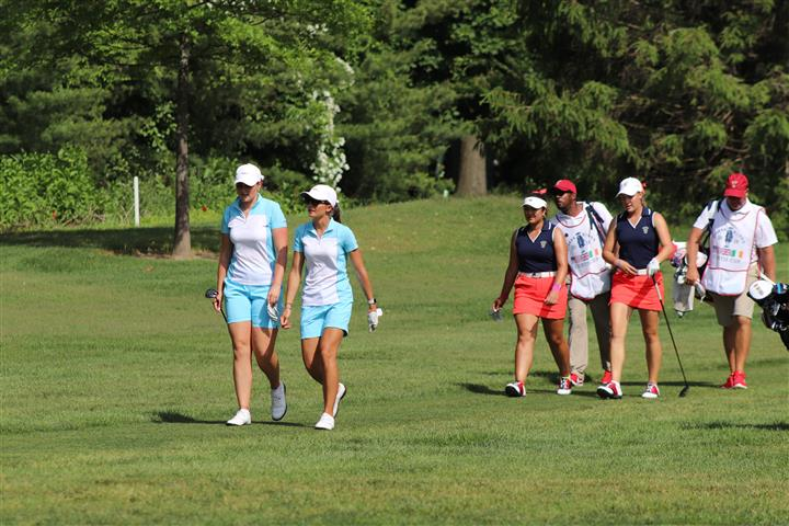 Curtis Cup 2018: Saturday Afternoon Recap