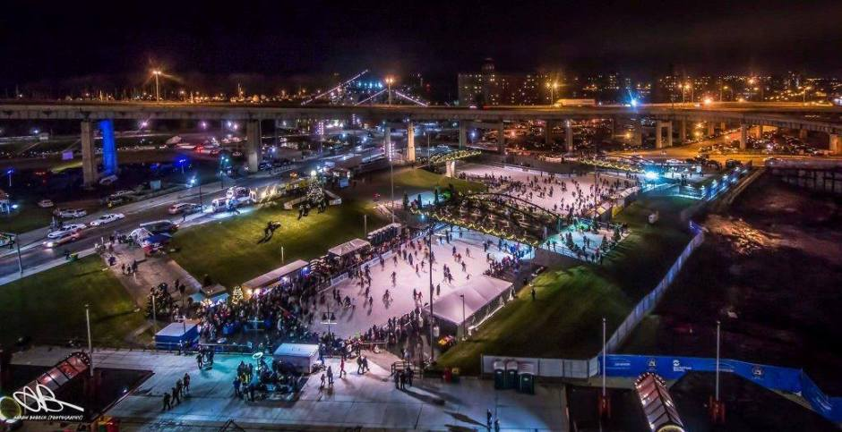 Canalside: The Ice Rink! – Buffalovebirds