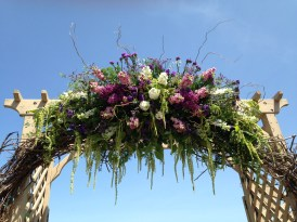 Flowers by Lipinoga Florist of Clarence NY for Wedding at Timberlodge in Akron NY (15)