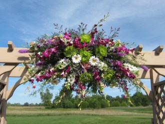 Flowers by Lipinoga Florist of Clarence NY for Wedding at Timberlodge in Akron NY (24)