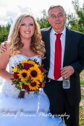 Buffalo Wedding Bridal Bouquet by Lipinoga Florist (3)