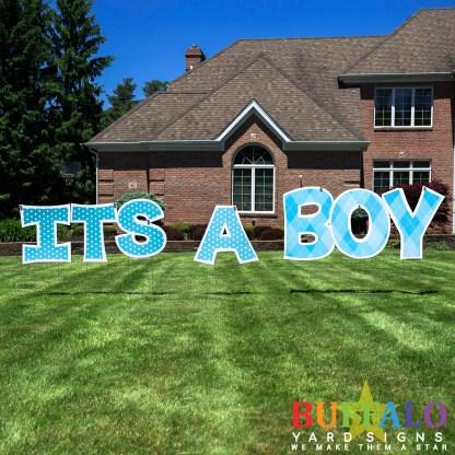 It's A Boy Yard Sign