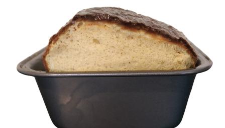 3-Ingredient High-Protein Bread