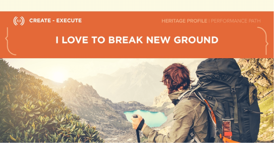 break-new-ground