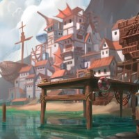 """""""Shipwreck Cove"""" by richy truong Print available a…"""