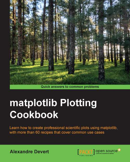 matplotlib Plotting Cookbook Giveaway by buffercode
