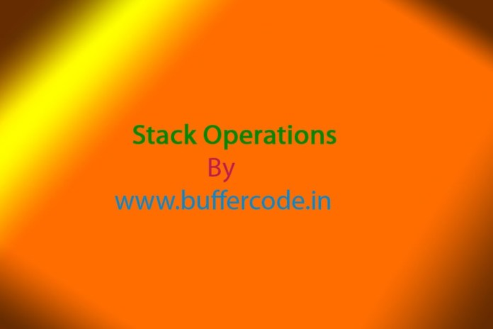 Bacic Exploits : Stack Operations