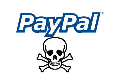 Vulnerability in PayPal user authentication system