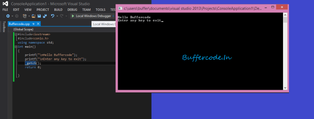 Building C/C++ code on the Command Line ( Visual Studio / GNU GCC ) for windows