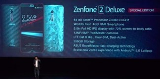 asus zenfone 2 delux special edition