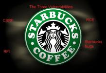Three Vulnerabilities Of Starbucks Website: Credit Card details in Risk