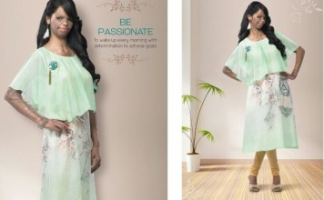 AUDACIOUS ACID ATTACK SURVIVOR ,THE FACE OF FASHION CAMPAIGN IN INDIA