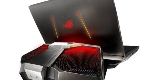 Asus ROG GX700 Top Gaming Loptop 2016