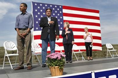 Barack Obama national anthem