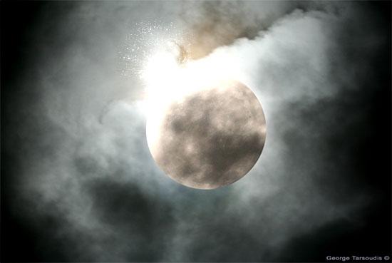 moon explosion