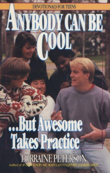 Anybody can be cool.  Hey, wait a minute... Is that John Tesh?