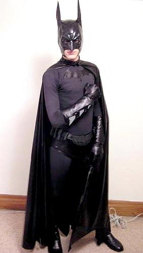 guy in Batman costume