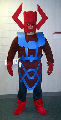 guy in Galactus costume
