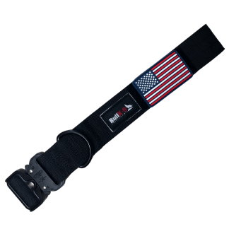 heavy duty big dog tactical collar cobra buckle