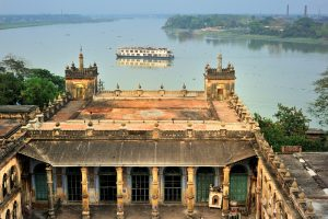 View of ABN Rajmahal from Hooghly Imambara