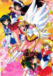 Eturnal Sailor Moon With Her Guardians