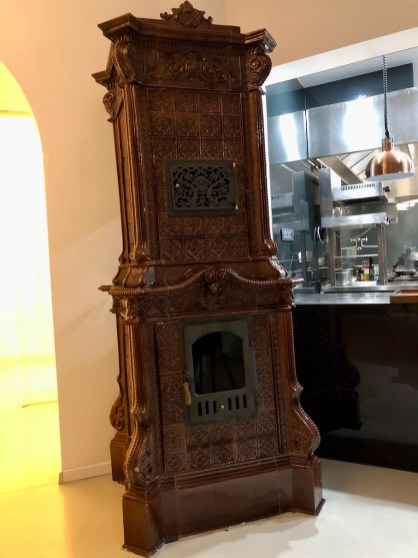 The 100 years old wood stove