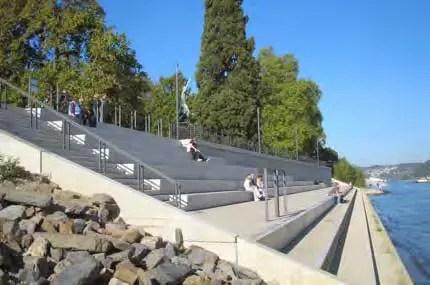 Die Rheinstufen in Koblenz wurden zur Gartenschau geschaffen. (Foto: RMP)