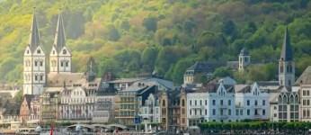 Mehr als 110.000 Gäste auf Kreuzfahrtschiffen erleben das Rheintal zumeist als Kulisse. (Foto: Piel media)