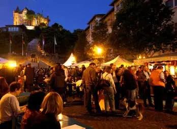 Binger Sektfest. (Foto: Tourist-Information Bingen am Rhein)