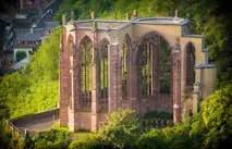 Bacharach, Ruine der Wernerkapelle. (Foto: Piel media)