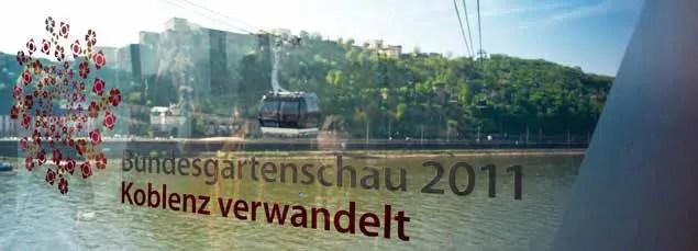 Die BUGA hat viele Stadtentwicklungsprojekte in Koblenz angestoßen. (Foto: Piel media)