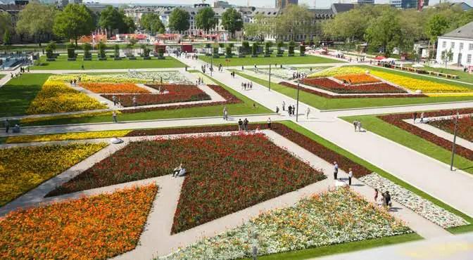 Rund 3,6 Mio. Menschen besuchten 2011 die Koblenzer Bundesgartenschau. (Foto: Piel media)