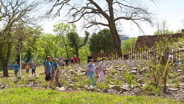 Beispiele für gelungene Maßnahmen: der Kultur- und Landschaftspark auf der Loreley (2019) … (Foto: Piel media)