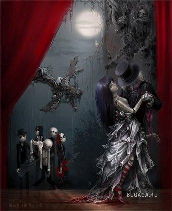 Мрачные Картинки, Мрачное Искусство