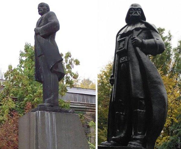 Из Ленина — в Дарта Вейдера: в Одессе появился уникальный ...