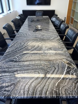 Kenya Black Marble conference table