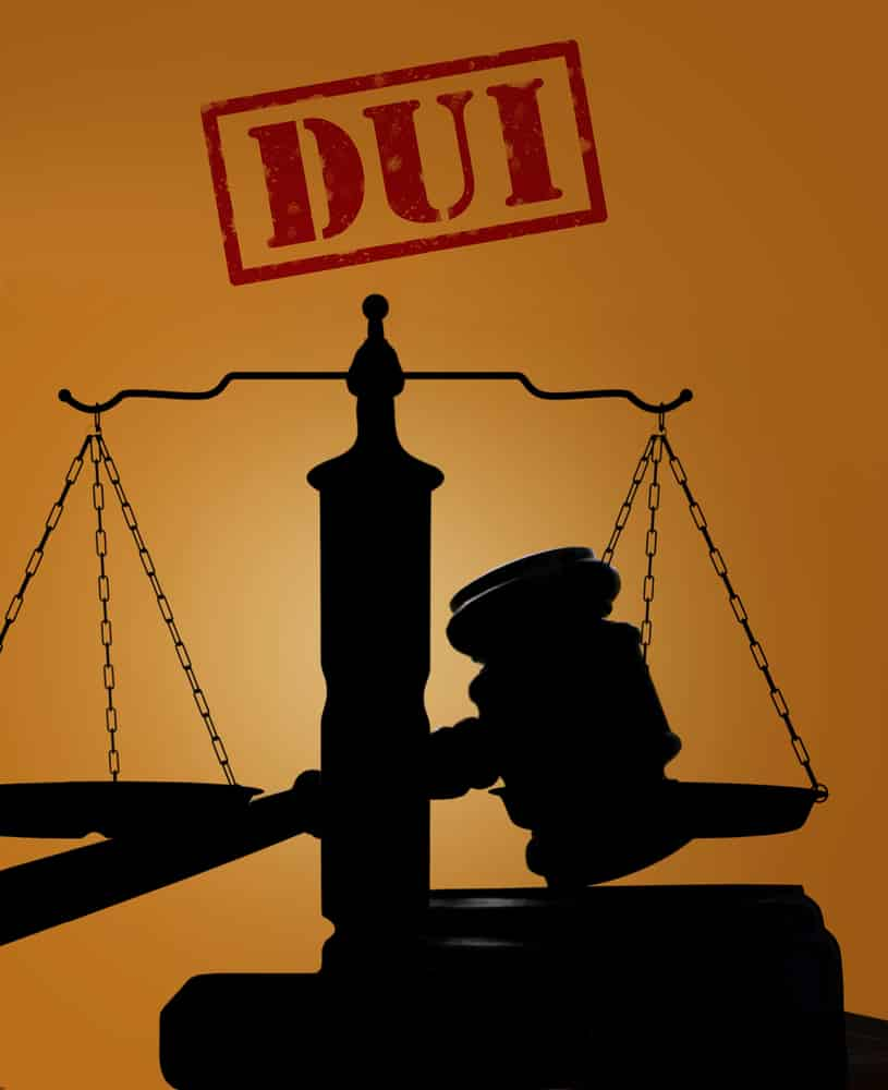 Justice scales Spokane DUI Conviction
