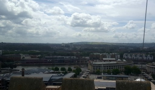 Bristol Cathedral roof top views