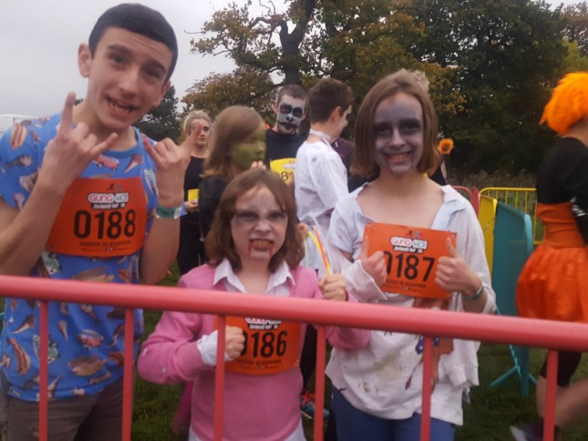Gung-Ho! Spooktacular Bristol 2016.The insane 5k inflatable obstacle course run