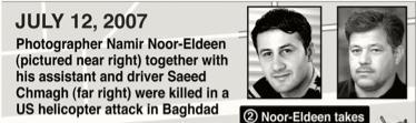 Namir Noor-Eldeen et Saeed Chmagh