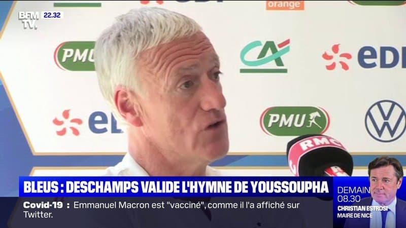 """""""Je la trouve bien"""": Didier Deschamps réagit à la chanson de Youssoupha pour l'Euro"""