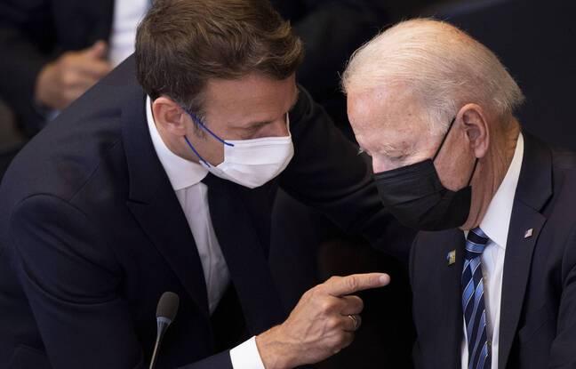 Crise des sous-marins: Macron et Biden promettent de restaurer «la confiance», l'ambassadeur français de retour à Washington la semaine prochaine