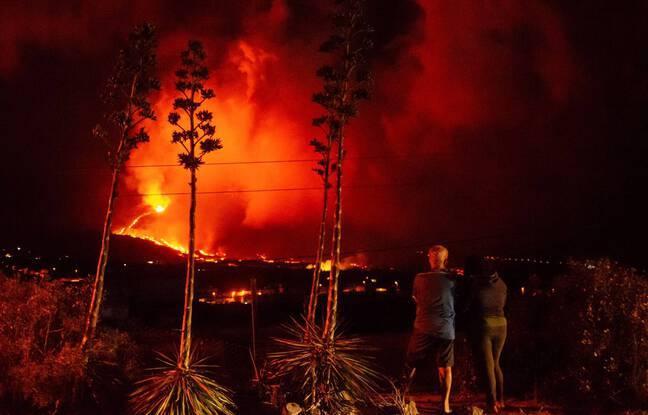 Eruptions aux Canaries: Plusieurs vols suspendus à l'aéroport de La Palma